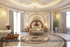 5 Thiết kế nội thất phòng ngủ 1 cổ điển biệt thự lâu đài tại gia lai