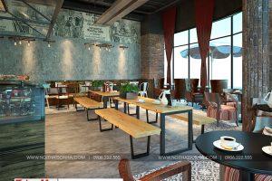 5 Thiết kế nội thất tiệm bánh cafe diện tích hiện đại tại trung tâm thương mại vinhomes imperia hải phòng