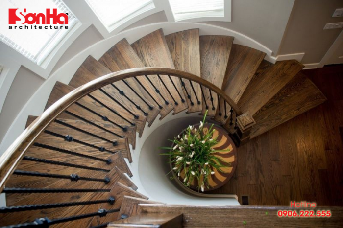 Mẫu cầu thang đẹp cho không gian nội thất ngôi nhà thêm sang trọng