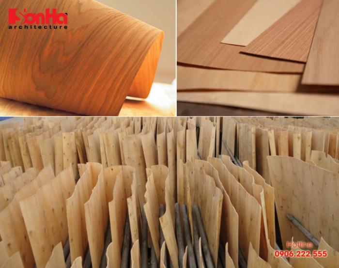 Sàn gỗ công nghiệp Veneer thường giữ được đường vân tự nhiên và tinh tế
