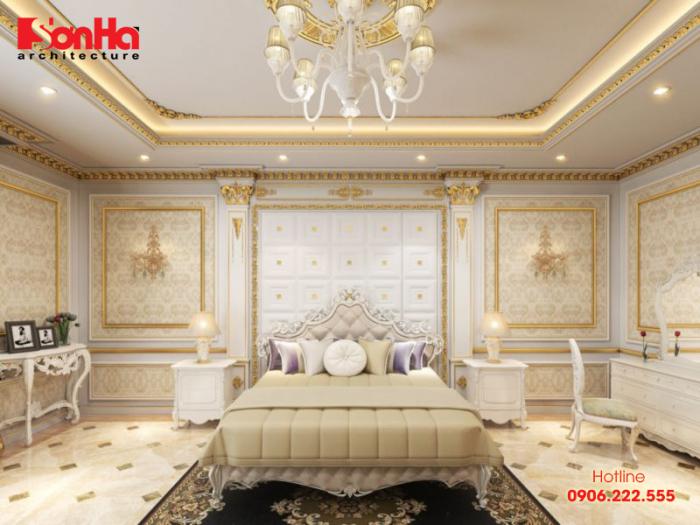 Thêm một ý tưởng trang trí phòng ngủ đẹp phong cách tân cổ điển cho bạn