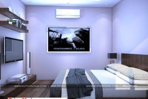 10 Mẫu nội thất phòng ngủ 3 nhà ống hiện đại đẹp tại hải phòng sh nod 0197