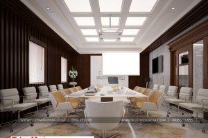 10 Thiết kế nội thất phòng họp khu shophouse tại quảng ninh
