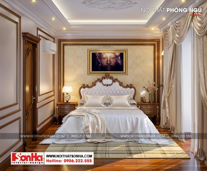 Thêm một phương án thiết kế nội thất phòng ngủ biệt thự để bạn tham khảo