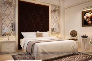 10 Thiết kế nội thất phòng ngủ sang trọng khách sạn cổ điển tại bắc ninh