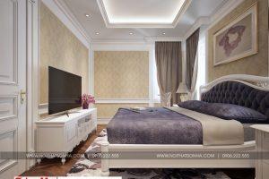 11 Mẫu nội thất phòng ngủ 2 biệt thự hiện đại đẹp tại hải phòng sh btd 0071