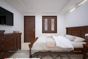 11 Thiết kế nội thất phòng ngủ 1 biệt thự pháp đẹp tại ninh bình sh btp 0134