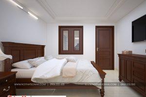 12 Mẫu nội thất phòng ngủ 2 biệt thự pháp 5 tầng tại ninh bình sh btp 0134