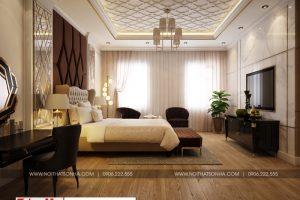 12 Thiết kế nội thất tân cổ điển phòng ngủ vip khu shophouse tại quảng ninh