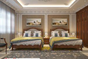 13 Không gian nội thất phòng ngủ 3 biệt thự phong cách pháp tại ninh bình sh btp 0134