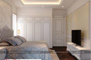 13 Mẫu nội thất phòng ngủ 4 biệt thự hiện đại mặt tiền 9mi tại hải phòng sh btd 0071