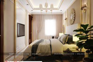 14 Thiết kế nội thất tân cổ điển phòng ngủ 1 khu shophouse tại quảng ninh
