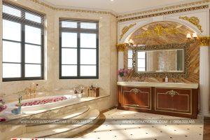 15 Mẫu nội thất phòng tắm wc biệt thự có sân vườn khu đô thị vinhomes hải phòng sh btp 0125