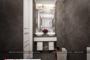 15 Mẫu nội thất phòng tắm wc biệt thự hiện đại 3 tầng tại hải phòng sh btd 0071