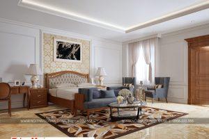 15 Thiết kế nội thất phòng ngủ 5 biệt thự pháp tại ninh bình sh btp 0134
