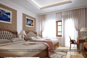16 Không gian nội thất phòng ngủ 6 biệt thự cổ điển tại ninh bình sh btp 0134
