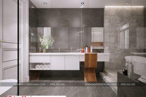 18 Thiết kế nội thất phòng tắm wc khu shophouse tại quảng ninh