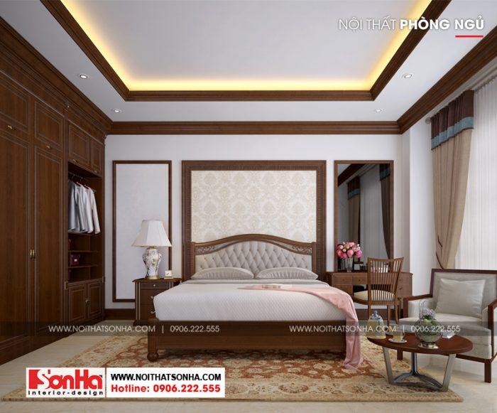 Mỗi phòng ngủ trong không gian nội thất ngôi biệt thự mang nét riêng