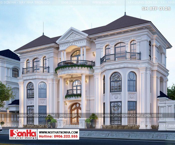 Phong cách kiến trúc còn được vận dụng tương đồng trong thiết kế nội thất biệt thự