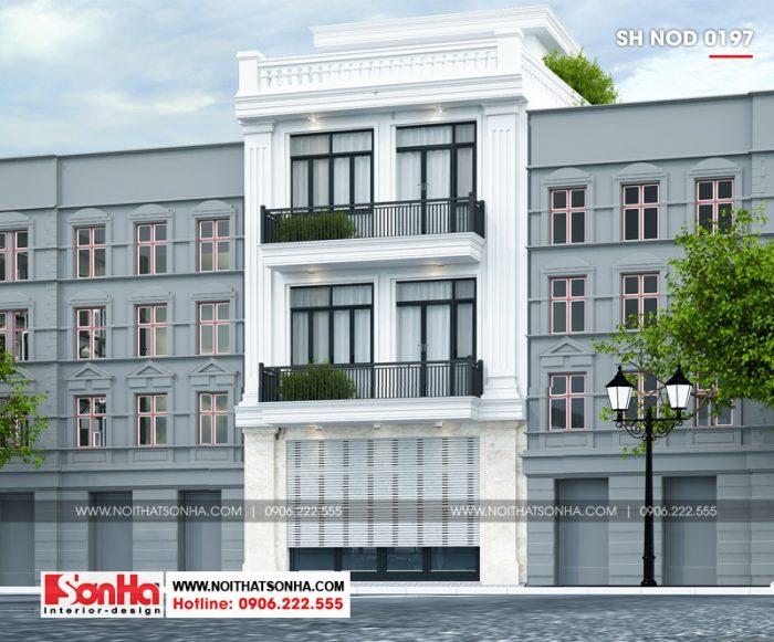 Kiến trúc nhà phố hiện đại mặt tiền 6,5 đẹp mắt đến từng tiểu tiết