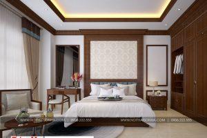 20 Thiết kế nội thất phòng ngủ 10 biệt thự phong cách pháp tại ninh bình sh btp 0134