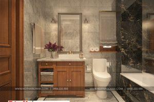 23 Mẫu nội thất phòng tắm wc biệt thự kiểu pháp tại ninh bình sh btp 0134