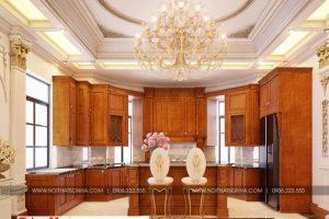 3 Mẫu nội thất phòng bếp biệt thự song lập khu đô thị vinhomes hải phòng sh btp 0125