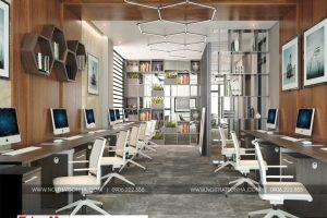 3 Thiết kế nội thất phòng làm việc khu đô thị waterfront hải phòng wfc 005