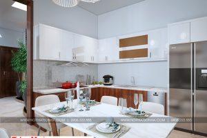 4 Mẫu nội thất phòng bếp nhà ống phong cách hiện đại tại hải phòng sh nod 0197