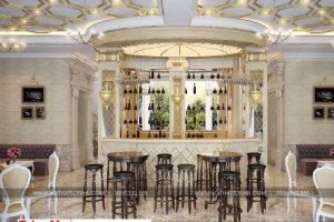 5 Mẫu nội thất khu cafe khách sạn 6 tầng tại bắc ninh