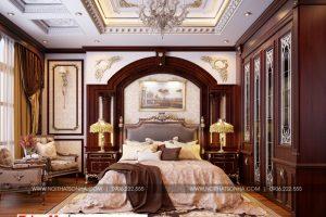 5 Mẫu nội thất phòng ngủ vip biệt thự có sân vườn khu đô thị vinhomes hải phòng sh btp 0125