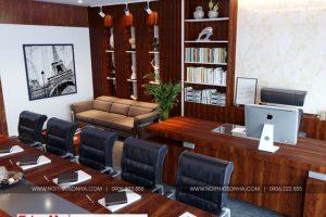 5 Thiết kế nội thất phòng giám đốc khu đô thị waterfront hải phòng wfc 005
