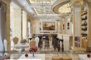 6 Không gian nội thất khu cafe khách sạn cổ điển đẹp tại bắc ninh