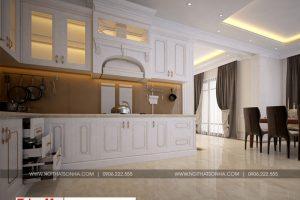 7 Mẫu nội thất phòng bếp ăn biệt thự hiện đại tại hải phòng sh btd 0071