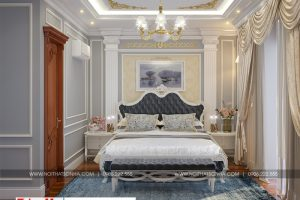 7 Mẫu nội thất phòng ngủ 2 biệt thự tân cổ điển khu đô thị vinhomes hải phòng sh btp 0125