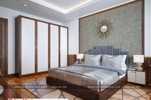 9 Mẫu nội thất phòng ngủ 3 nhà ống tân cổ điển đẹp tại hải phòng sh nop 0188
