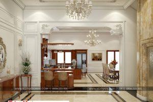 9 Mẫu nội thất sảnh biệt thự cổ điển tại ninh bình sh btp 0134