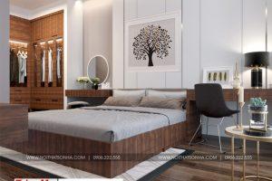 9 Thiết kế nội thất phòng ngủ 2 nhà ống phong cách hiện đại tại hải phòng sh nod 0197