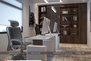 9 Thiết kế nội thất phòng phó giám đốc khu đô thị waterfront hải phòng wfc 005