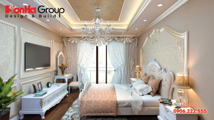 Không nên bố trí quá nhiều đồ nội thất trong phòng ngủ