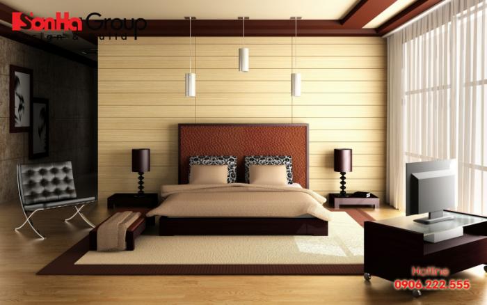 Mẫu phòng ngủ đẹp hợp với mệnh Mộc (Tùng Bách Mộc)