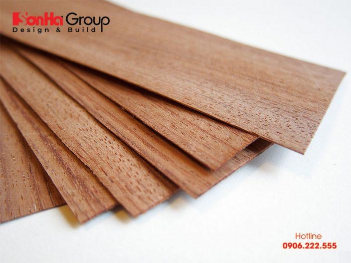 Gỗ Veneer là gì và ứng dụng của gỗ veneer trong thiết kế thi công nội thất