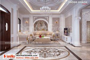 1 Mẫu nội thất phong cách tân cổ điển biệt thự vinhomes imperia