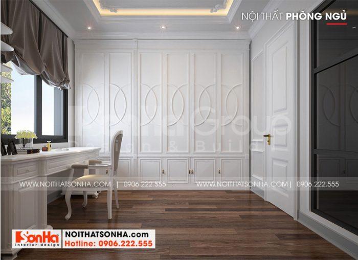 Thêm một cách trang trí cho phòng ngủ VIP của biệt thự Vinhomes Imperia