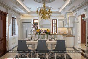 11 Trang trí nội thất phòng bếp tân cổ điển đẹp tại sài gòn sh btp 0130