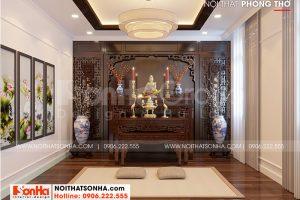 12 Cách trang trí nội thất phòng thờ đẹp biệt thự khu đô thị vinhomes imperia