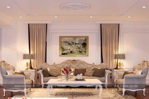 12 Thiết kế nội thất phòng sinh hoạt chung tầng lửng đẹp tại sài gòn sh btp 0130