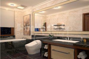14 Cách bố trí nội thất phòng tắm wc sang trọng biệt thự vinhomes imperia