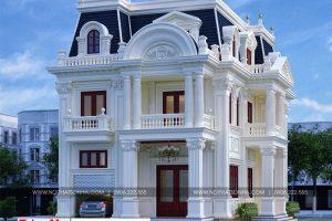 2 Mẫu biệt thự tân cổ điển 3 tầng tại sài gòn sh btp 0130