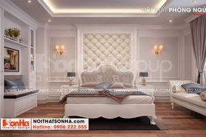7 Thiết kế nội thất phòng ngủ 2 biệt thự khu đô thị vinhomes imperia